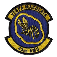 43 AMU Patch