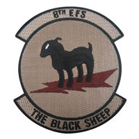 8th Fighter Squadron (8 FS) Desert Squadron Patches