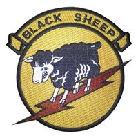 8th Fighter Squadron (8 FS) Black Sheep Heritage Patches