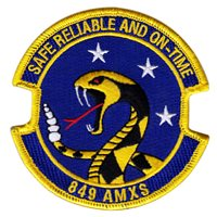 849th Aircraft Maintenance Squadron (849 AMXS) Patches