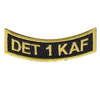 Det 1 KAF Patch