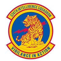 324 IS Squadron Patch