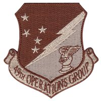 49th Operations Group (49 OG) Desert Patches