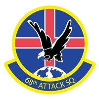 68th Attack Squadron (68 ATKS) Patches