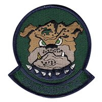 525 FS Squadron Subdued Patch
