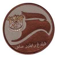 525 FS Raptor Driver Desert Arabic Patch