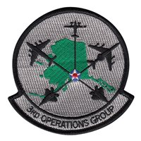 3 OG Aircraft Patches
