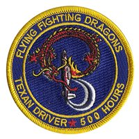 33 FTS T-6A 500 Hours Patch