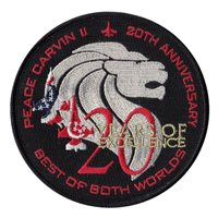 425 FS 20 Year Anniversary Patch