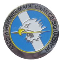 552 AMXS Custom Air Force Challenge Coin