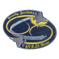 461 FLTS F-35 69 Hours Patches