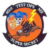 461 FLTS Secret Squirrel Patch