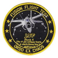 461 FLTS Fusion Flight Test X-Wing Patch