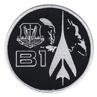 B-1B Profile Black Patch