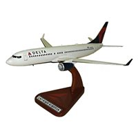 Delta Airlines Boeing 737-800 Custom Airplane Model