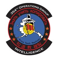 354 OG Intelligence Patch