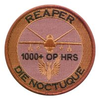 No. 39 Squadron RAF MQ-9 1000 Hours Desert Patch