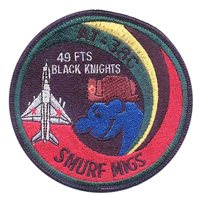 49 FTS Smurf Migs Patch