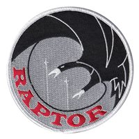 50 FTS Raptor Flight Patch