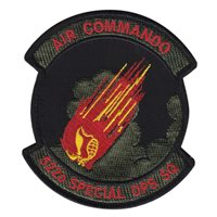 522 SOS Air Commando Skull Patch