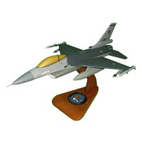 Royal Netherlands Air Force 313 SQN F-16MLU Custom Aircraft Model