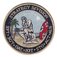 613 AOC Strategy Division Patch