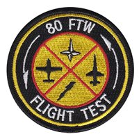 80 FTW Flight Test FCF Patch