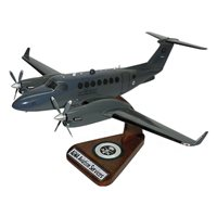 King Air 350 MC-12W Custom Airplane Model