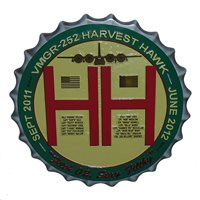 VMGR-252 Harvest Hawk Deployment Plaque