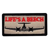 MC-12 Life's A Beech Pencil Patch