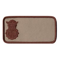 736 SFS Desert Nametag Patch