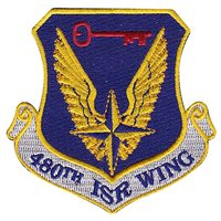 480 ISR Wing Patch