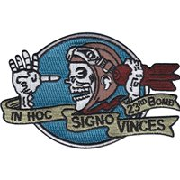 23 BS In Hoc Signo Vinces Patch