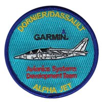 Garmin Embroidered Alpha Jet Patch