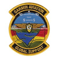 Garmin Aviation Global Support Patch