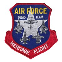 USAF Heritage Flight Demo Team Patch