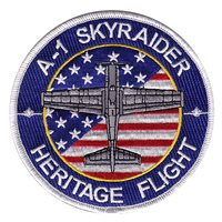 A-1 Skyraider Heritage Flight Patch