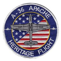 A-36 Apache Heritage Flight Patch