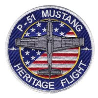 P-51 Mustang Heritage Flight Patch