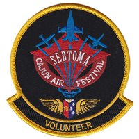Sertoma Cajun Air Festival Volunteer Patch