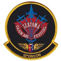 Sertoma Cajun Air Festival Sponsor Patch