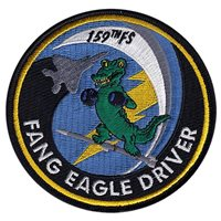 159 FS Fang Eagle Driver Patch