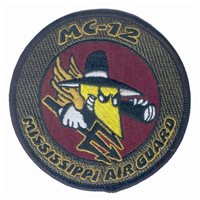 186 ARW MC-12 MSANG Subdued Patch