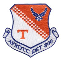 "AFROTC Det 800 University of Tennessee 4"" Patch"