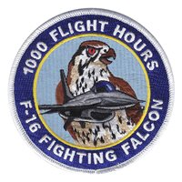 F-16C 1000 Hours Patch