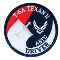 T-6A Texan II AETC Driver Patch