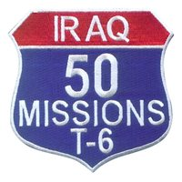 T-6 Combat Missions Color Patch