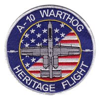 A-10 Warthog Heritage Flight Patch