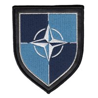 NATO Chest Patch with PLU and Merrow Border Patch