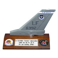 62 FS F-16 Airplane Tail Flash
